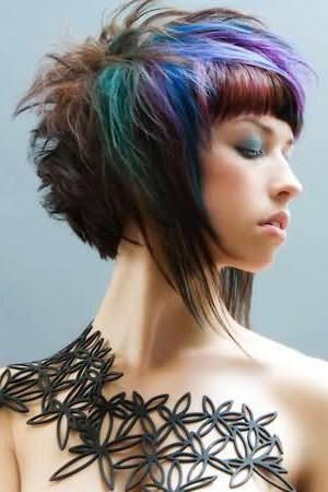 покраска волос балаяж на короткие волосы