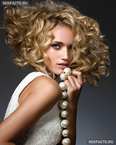 Выполнение химии на волосах