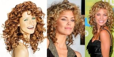 Кудрявые волосы средней длины – удивительная женственность